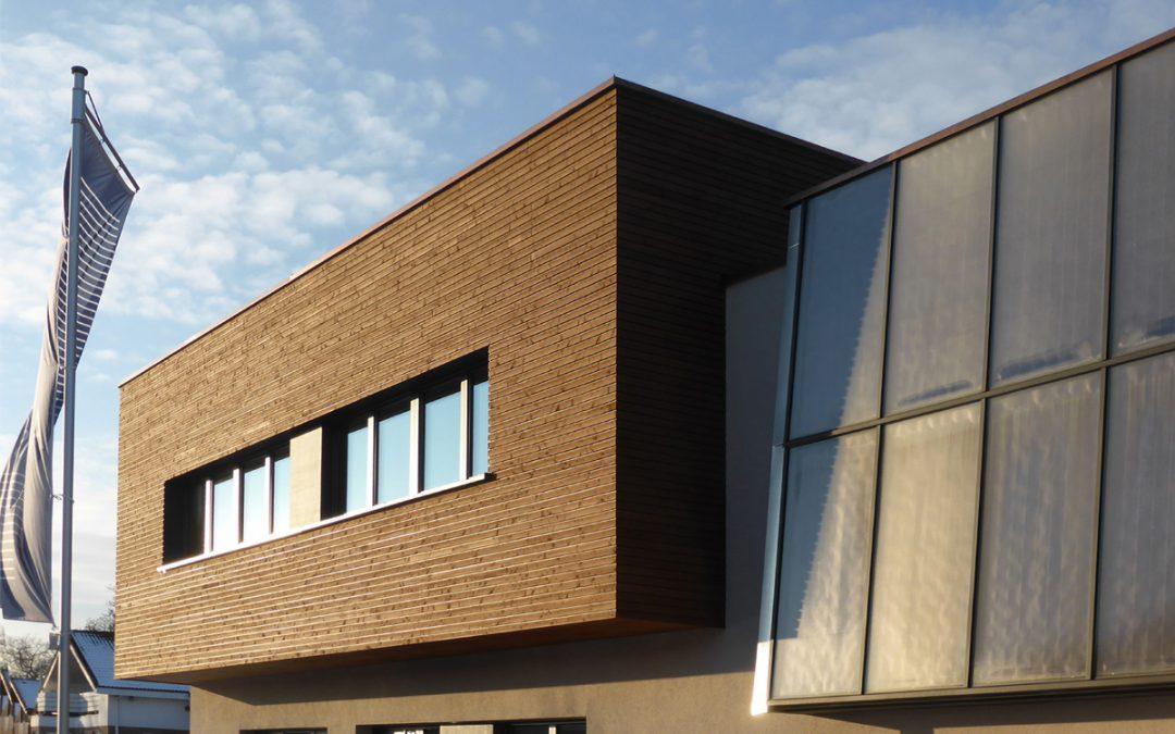 Büro und Werkstattneubau AeDis, Roßwälden