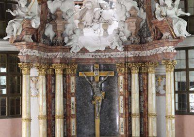 Hochaltar, Schlosskirche Raststatt