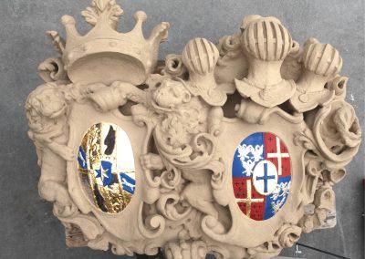 Wappen, Schloss Leutershausen