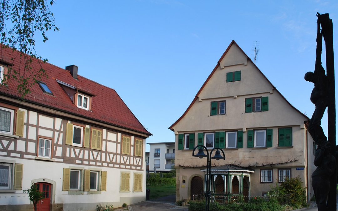 Kirchplatz 2 und 3, Löchgau