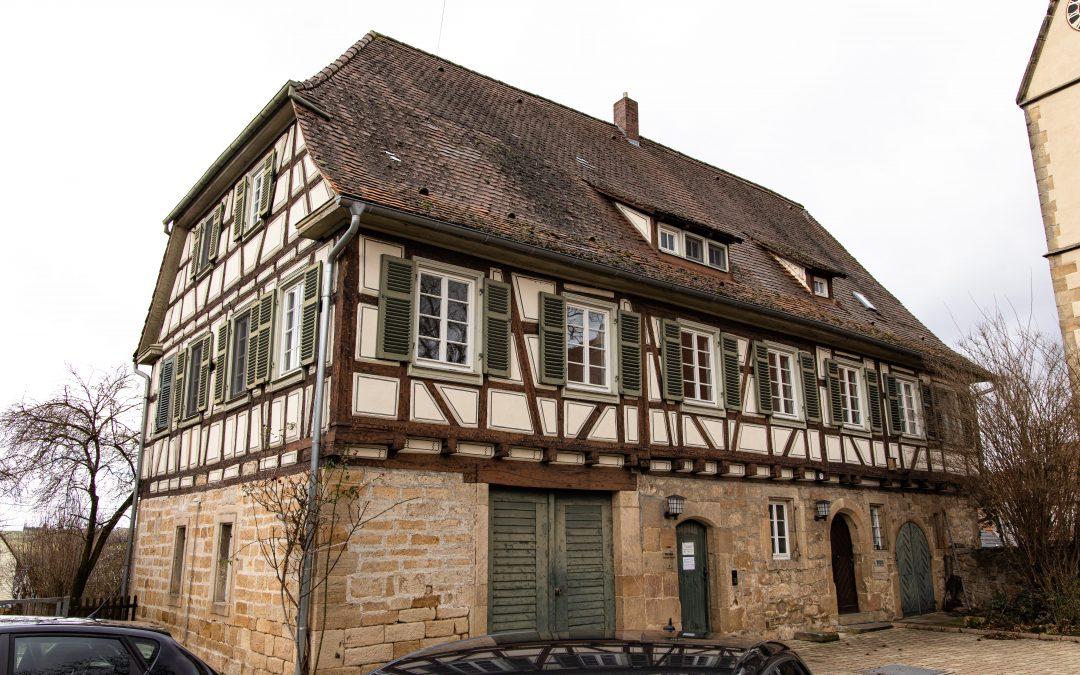 Evangelisches Pfarrhaus, Schlaitdorf